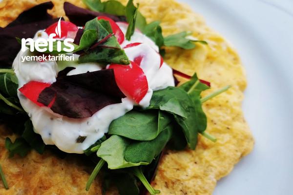 Waffle Makinesinden Omlet Tarifi