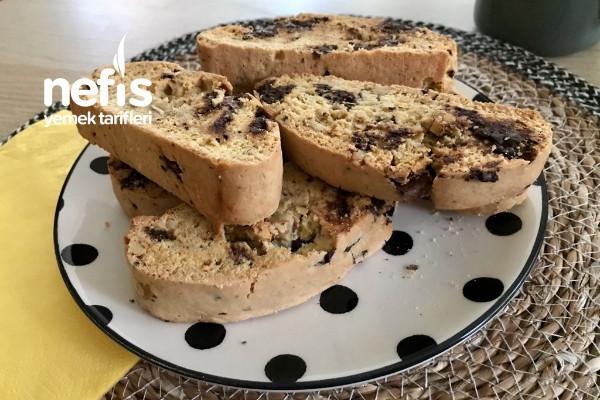 Biscotti (Çikolatalı Ve Cevizli)