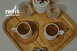 Bol Köpüklü Orta Şekerli Türk Kahvesi Tarifi