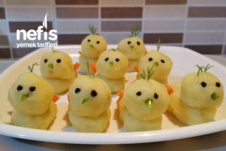 Patatesli Civciv Tarifi
