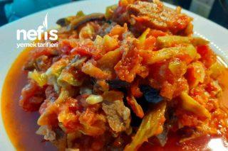 Vitamin Deposu Kurutulmuş Sebze Yemeği Tarifi