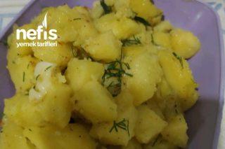 Meze Yanında Patates Tarifi