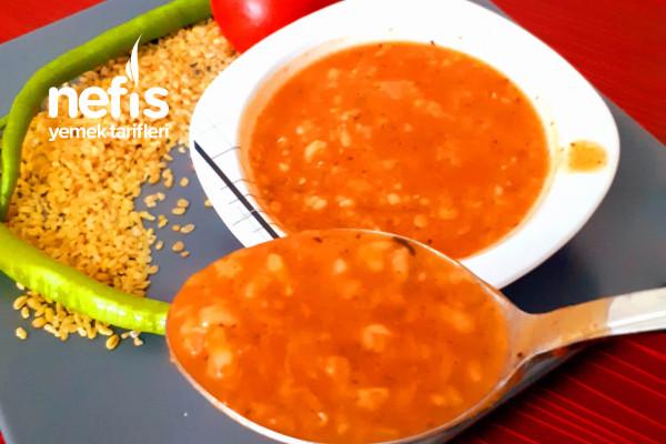 Sebzeli Bulgur Çorbası (Kış Çorbası)