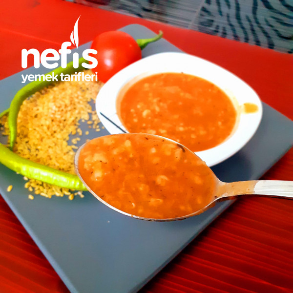 Sebzeli Bulgur Çorbası(kış Çorbası)