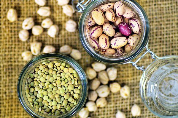 bitkisel proteinler
