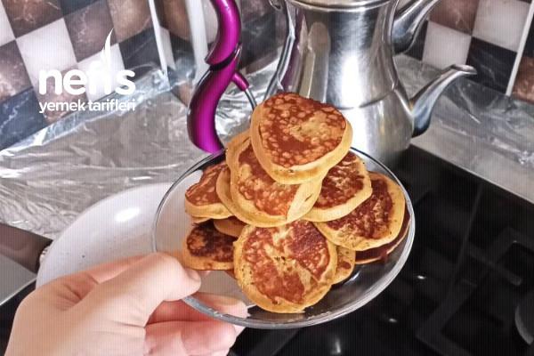 Bebekler İçin Kahvaltılık Pekmezli Pankek (+12)