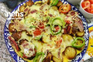 Pratik Simit Pizzası Tarifi