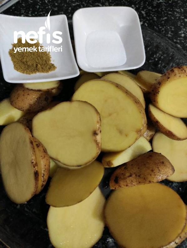 Soba Fırını Tadında Patates