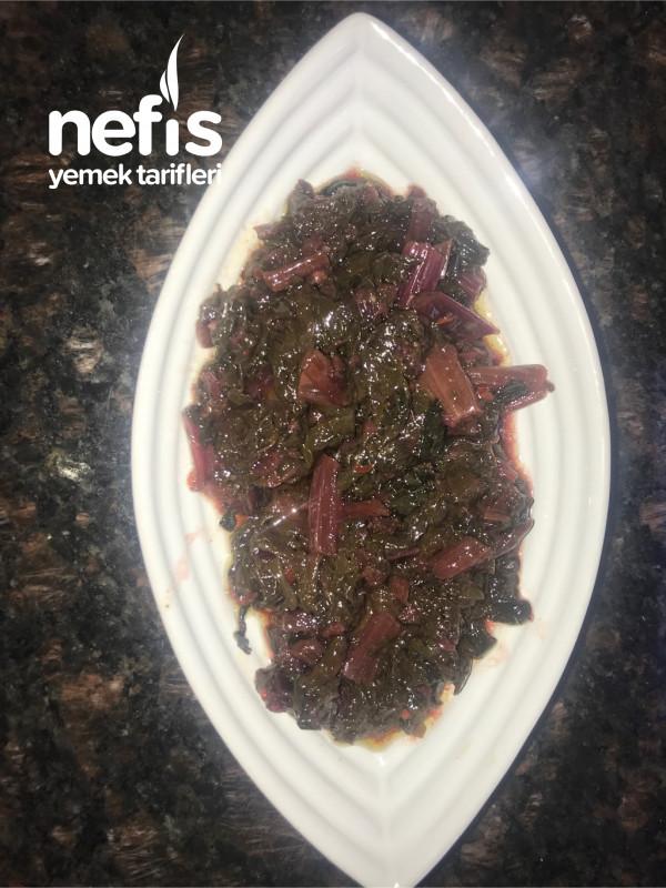 Bağışıklığı Güçlendiren Pancar Ve Pazı Sıcak Salata