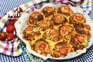 Puf Pizza Poğaça Tarifi (Videolu)