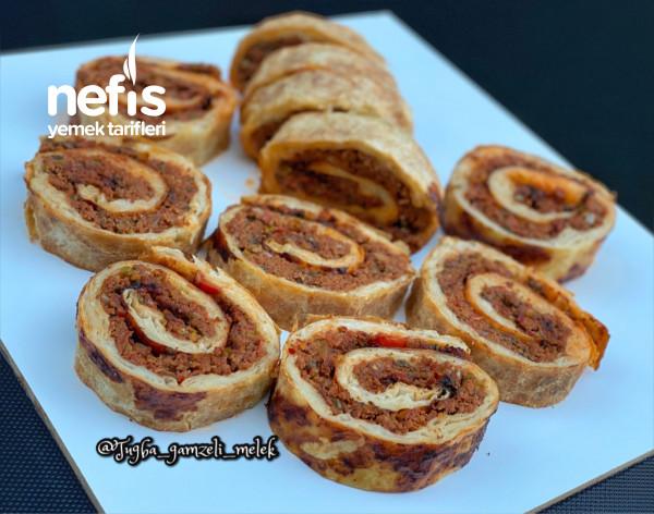 Rulo Lahmacun Böreği (Müthiş Lezzette)