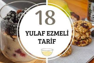 Yulaf Ezmesi ile Pratik ve Sağlıklı 18 Tarif Tarifi