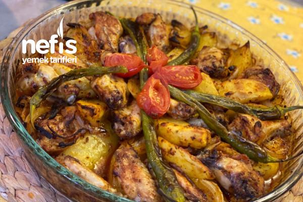 Fırında Tavuk Patates Tarifi