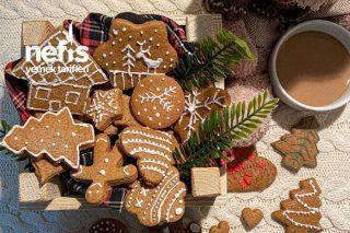 Ginger Bread (Yeni Yıl Kurabiyesi) Tarifi