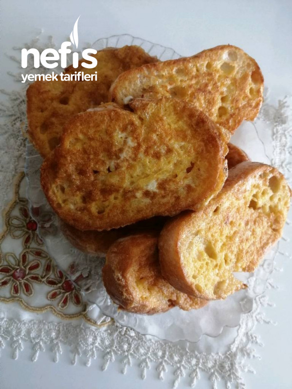 Kahvaltılık Yumurtalı Ekmek