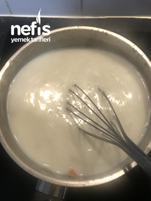 Sütlü Köfteli Çorba