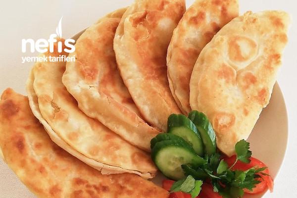 Peynirli Börek (Çiğ Börek Tadında) Tarifi