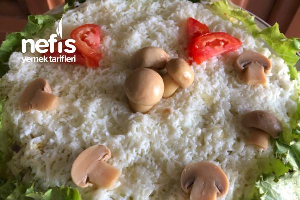 Çok Kolay Mantar Salatası – Rus Tarifi