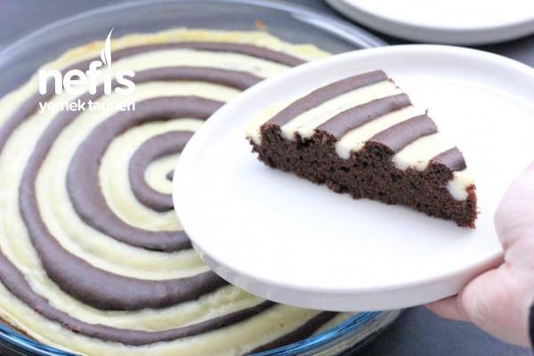 Kremasıyla Pişen Bu Keke Bayılacaksınız! Pudingli Helezon Kek