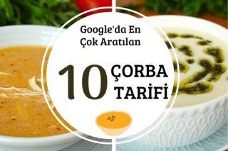 Google'da En Çok Aratılan 10 Çorba Tarifi
