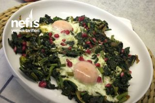 Ispanak (Yumurtalı Narlı) Tarifi