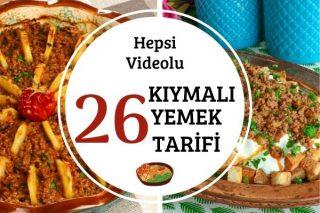 Kıymalı Yemek Tarifleri: Lezzetli Videolu Denenmiş Tarifi