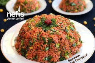 Pancarlı Pirinç Salatası Tarifi
