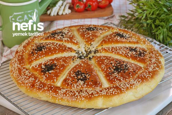 Yumuşacık Peynirli Kahvaltı Pidesi (videolu) Tarifi
