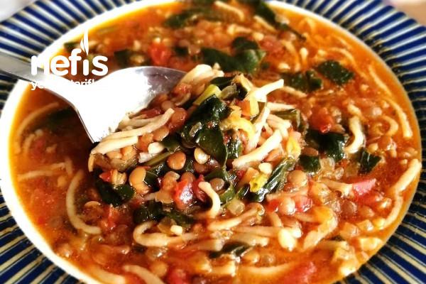 Ispanaklı Erişte Yemeği Tarifi