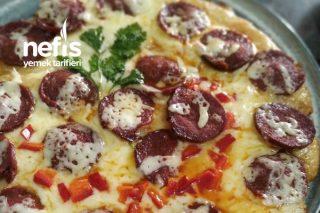 Patates Tabanlı Kahvaltı Pizzası Tarifi