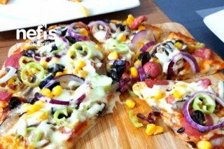 Pizza (Kayseri Ateşi Ve Extravaganza) Tarifi