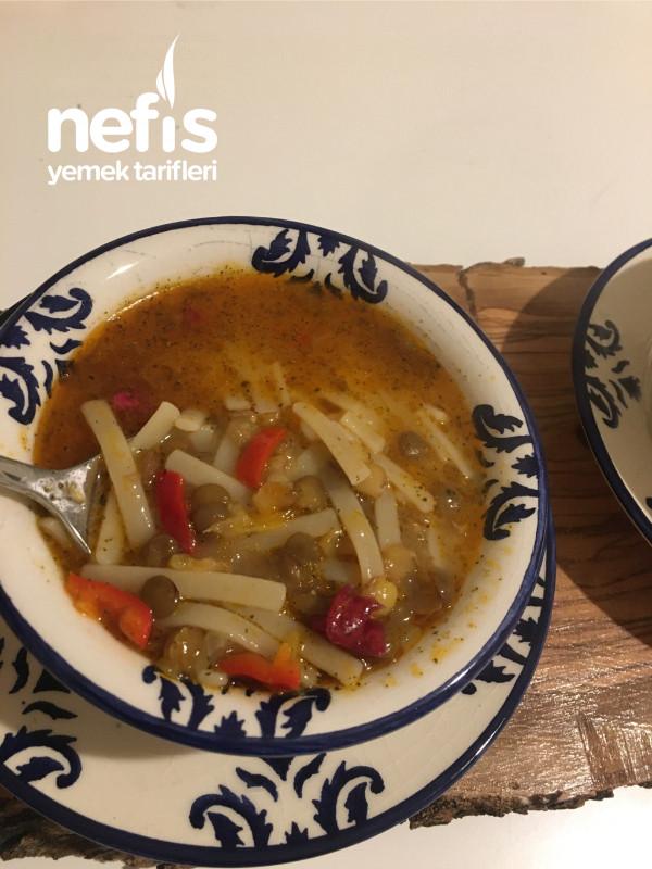 Erişteli Anadolu Çorbası