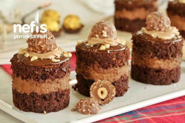 Kat Kat Lezzet: Ferrero Rocher Mini Pasta (videolu)