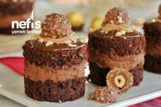 Kat Kat Lezzet: Ferrero Rocher Mini Pasta (videolu) Tarifi