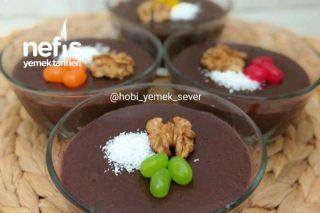 Nefis Ev Yapımı Çikolatalı Puding Tarifi