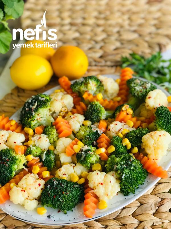 Brokoli Salatası Kış Salatası
