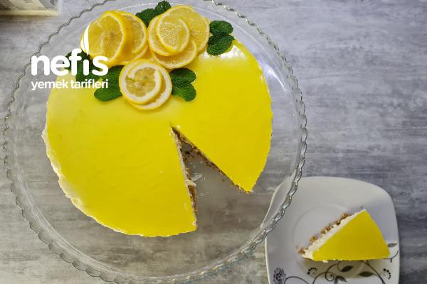 Kendinden Geçiren Limonlu Cheesecake (Videolu)