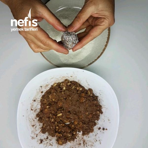 Mini Şölen Hindistan Cevizli Bisküvi Topları