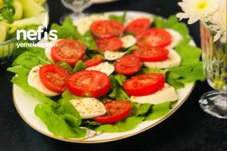 Çok Pratik Mozzarella Salatası Tarifi