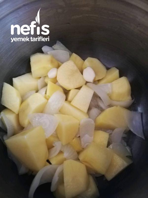 Patatesin En Nefis Halipatates Çorbası