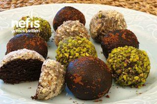 Nefis Çikolatalı Toplar (Badem Ve Fıstıklı) Tarifi