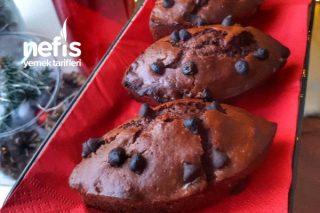 Tam Kıvamında Çikolatalı Mekik Kek Tarifi