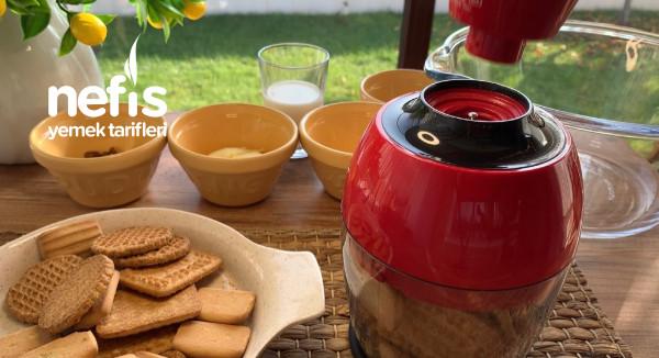 Evde Kalan Bisküvilerden Kahve Yanına Enfees Bir İkramlık