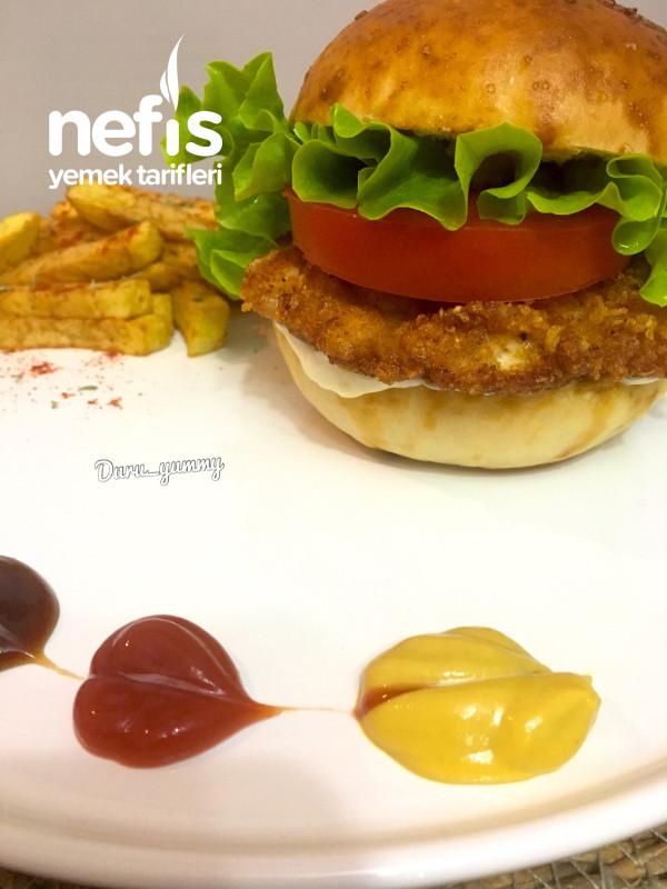 Hazırlardan Çok Daha Güzel Tavuk Burger
