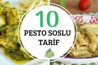 Pesto Soslu 10 Değişik Tarif Tarifi