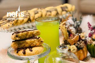 Portakallı Çikolatalı Cookies Kurabiye Tarifi