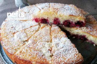 Vişneli Kırıntılı Kek Tarifi