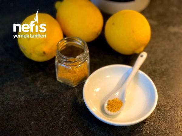 Kavanozda Limon Kabuğu (Kek Ve Kurabiye İçin)