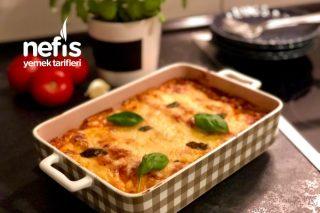 Börek Tadında Ispanaklı Cannelloni Tarifi