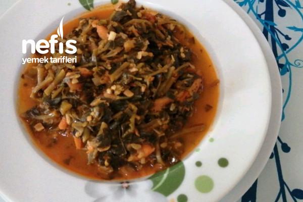 Bulgurlu Havuçlu Semizotu Yemeği Tarifi